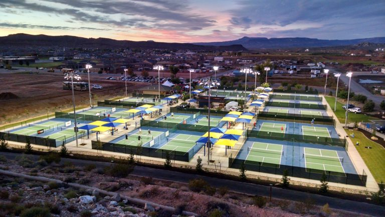 Little Valley Pickleball-komplexum