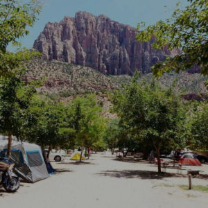 Zion Canyon Campground Camp Pic-kopia