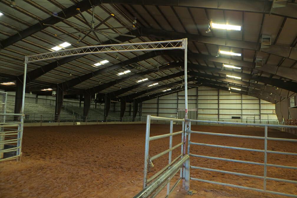Indoor Equestrian Arena