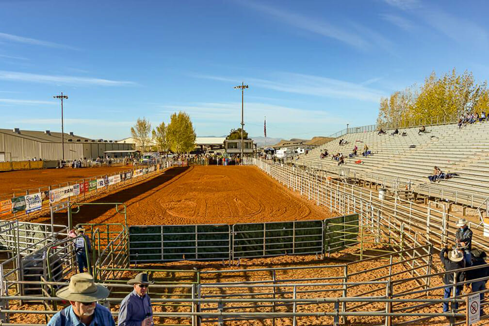Rodeo arena