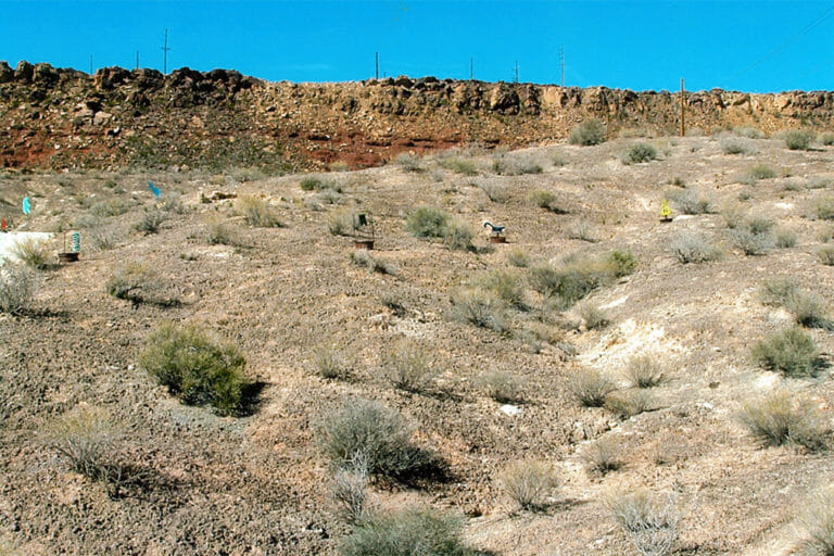 Стрельбище в пустыне