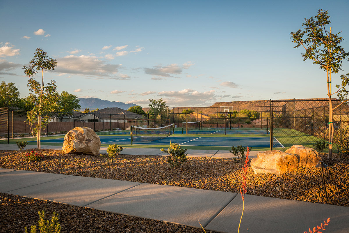 Pickleball and Basketball Courts