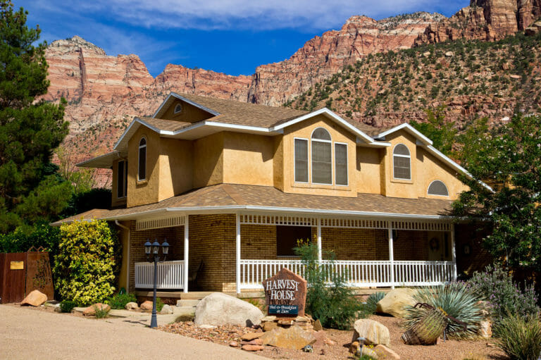 Harvest House Bed and Breakfast en Zion en Springdale, Utah