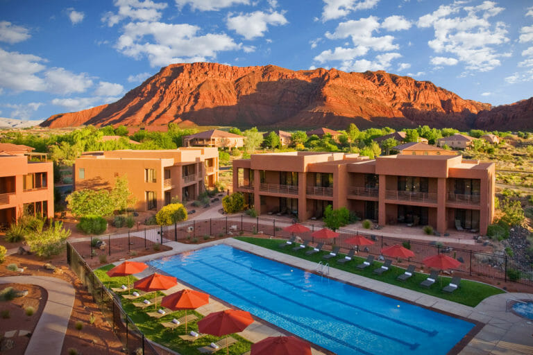 Red Mountain Resort in Ivins, Utah