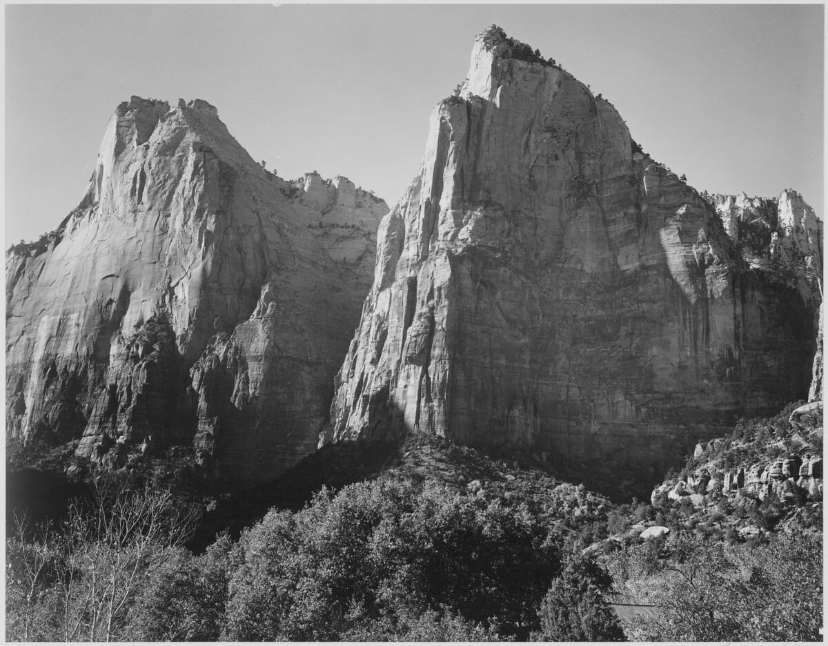 HD wallpaper: Zion National Park in Winter, Utah   Wallpaper Flare