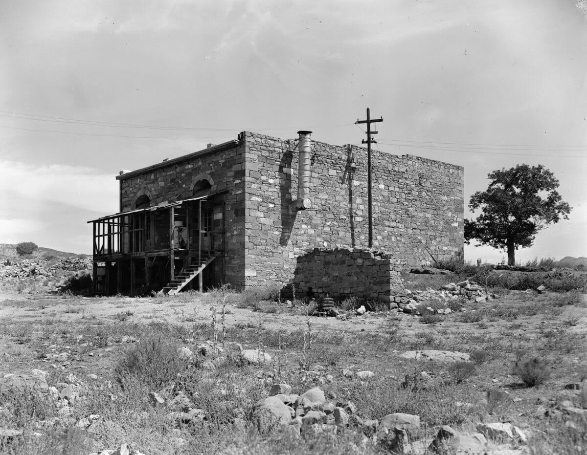Wells Fargo building in Silver Reef