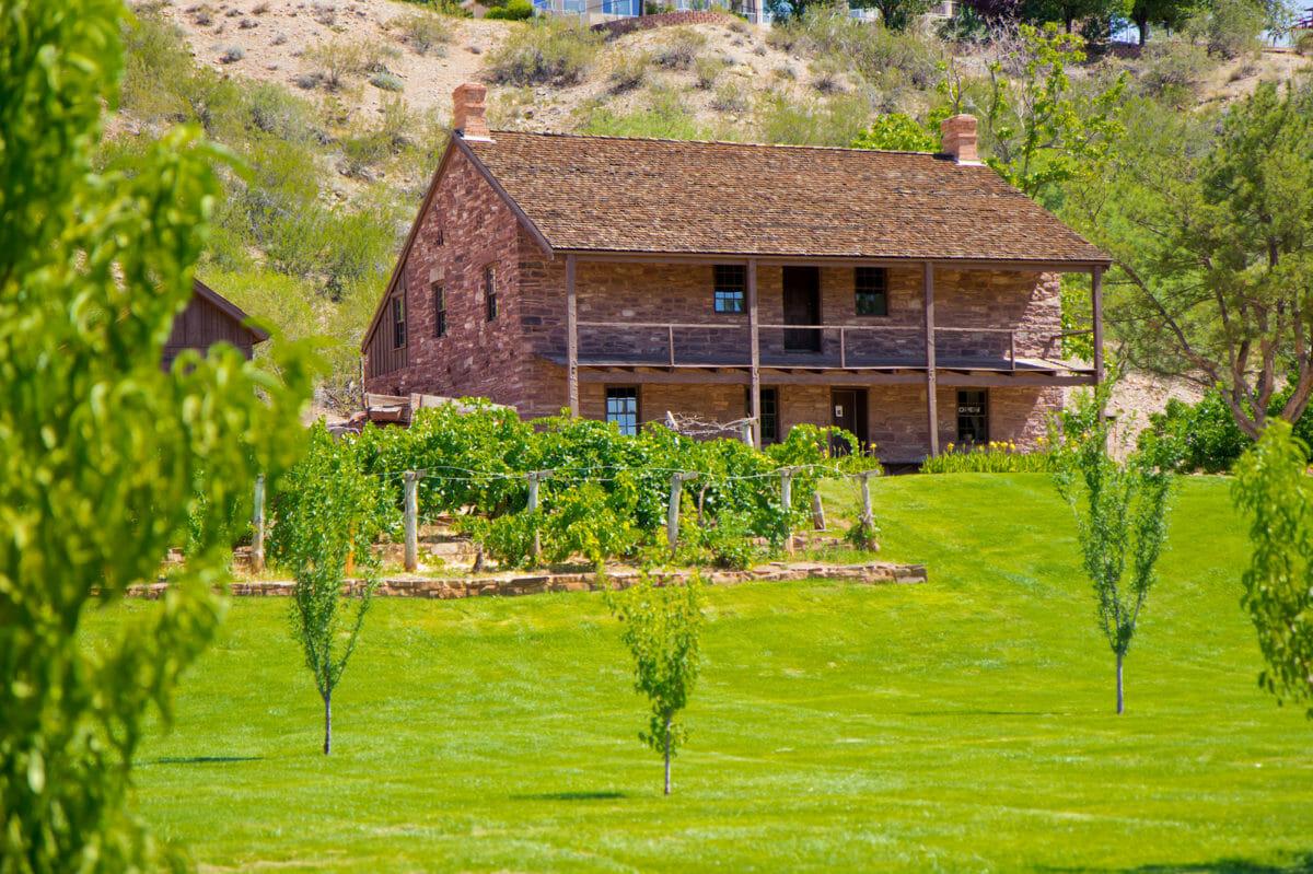 The Jacob Hamblin Home, Santa Clara, Utah