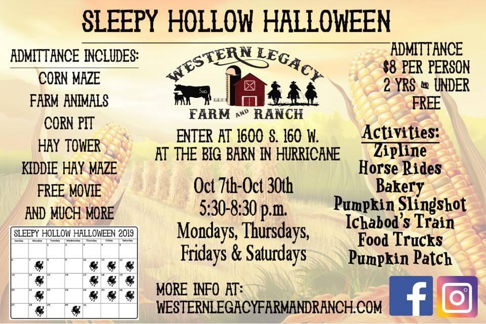 Sleepy Hollow Halloween Greater Zion Event