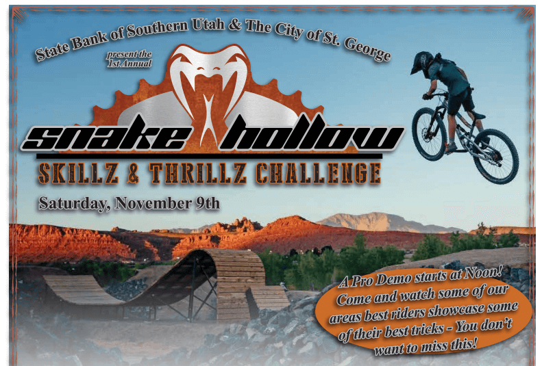 Poster: Snake Hollow Skillz & Thrillz Challenge