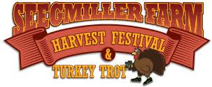 Poster: Seegmiller Farm Harvest Festival & Turkey Trot
