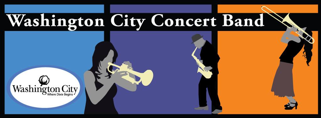 Poster: Washington City Concert Band