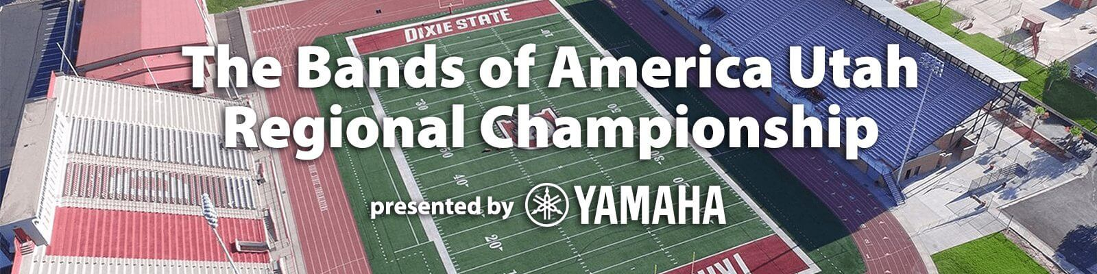 Poster: The Bands of America Utah Regional Championship presented by Yamaha