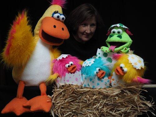 Stuffed puppets