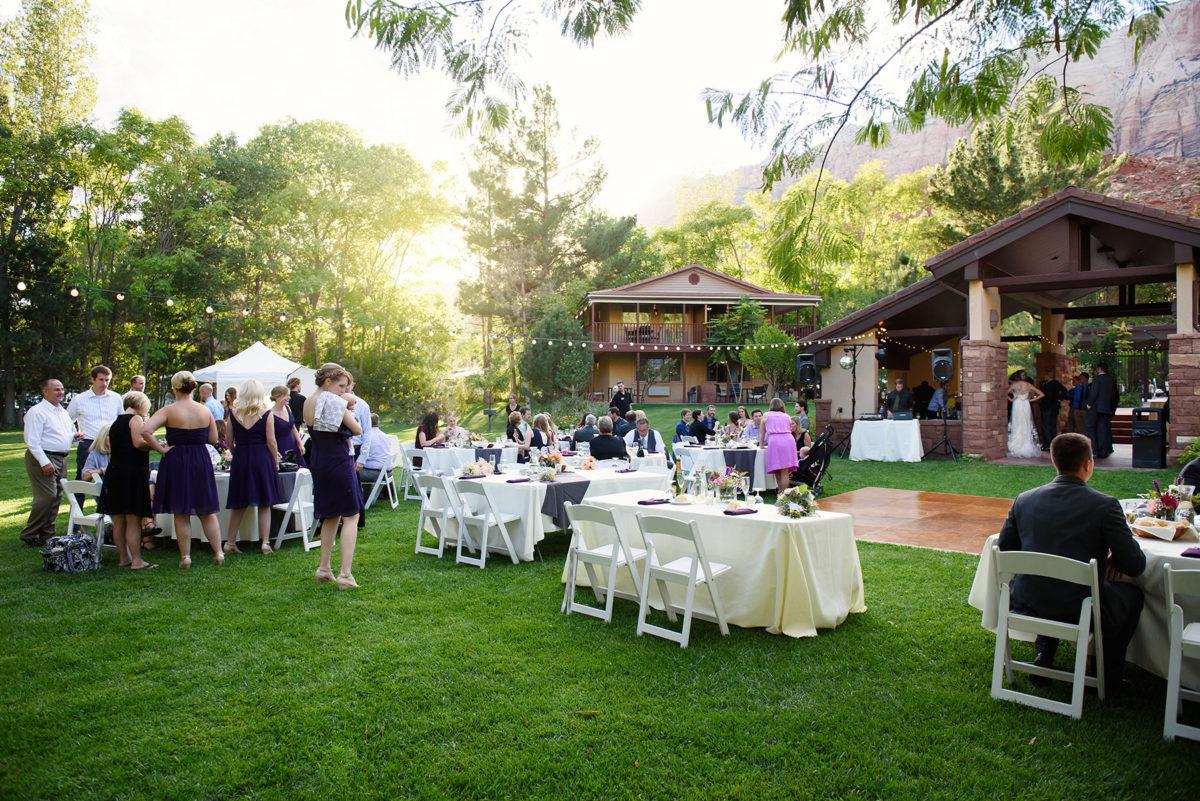 Cliffrose Wedding 01