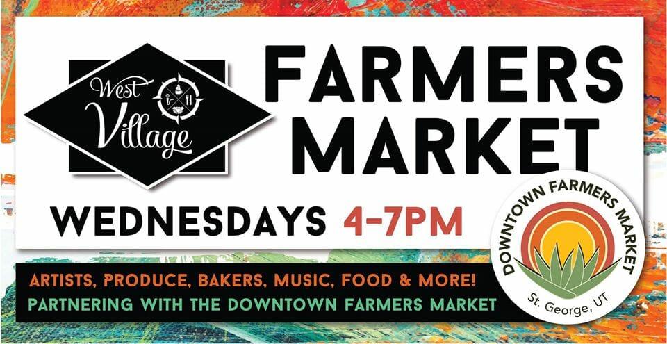 Poster: West Village Farmers Market - St. George, Utah