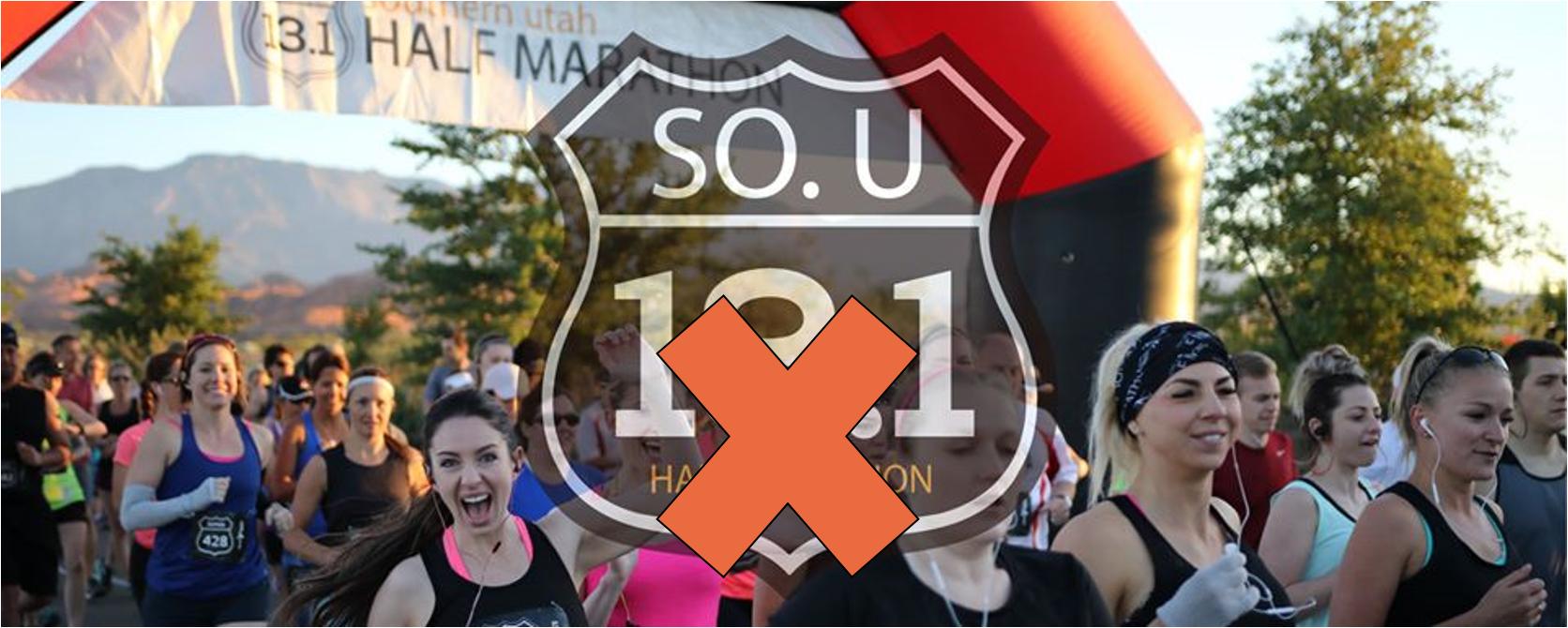 southern utah half marahon runners