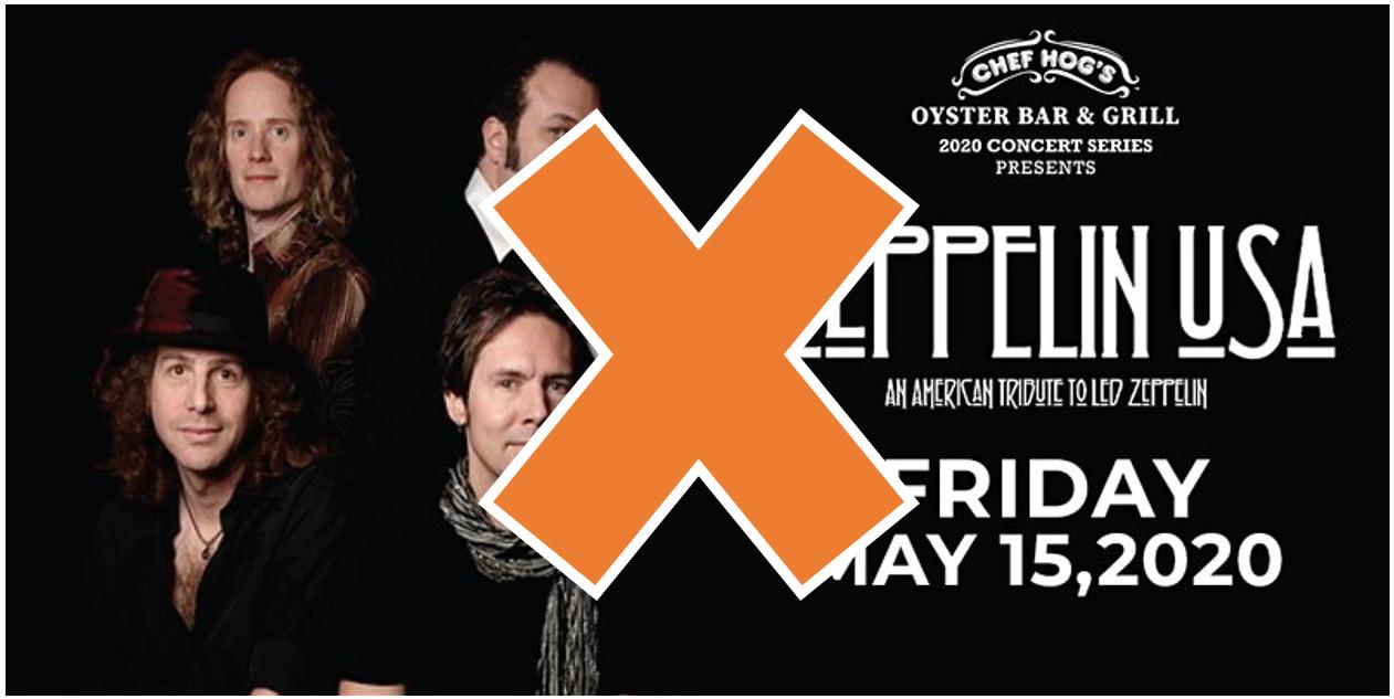 zeppelin live canceled