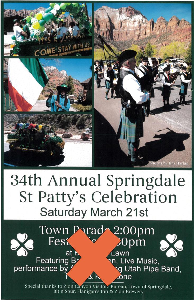 springdale st pattys day flyer