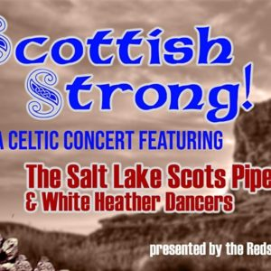 flyer for scottish band music