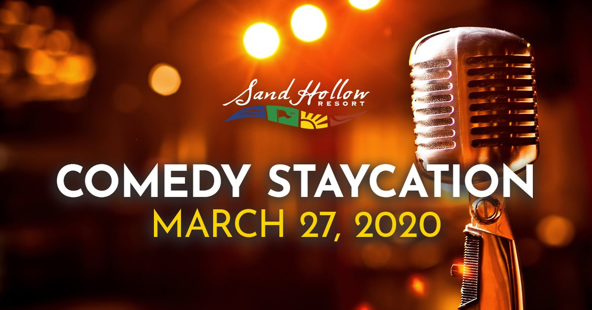 comedy staycation march