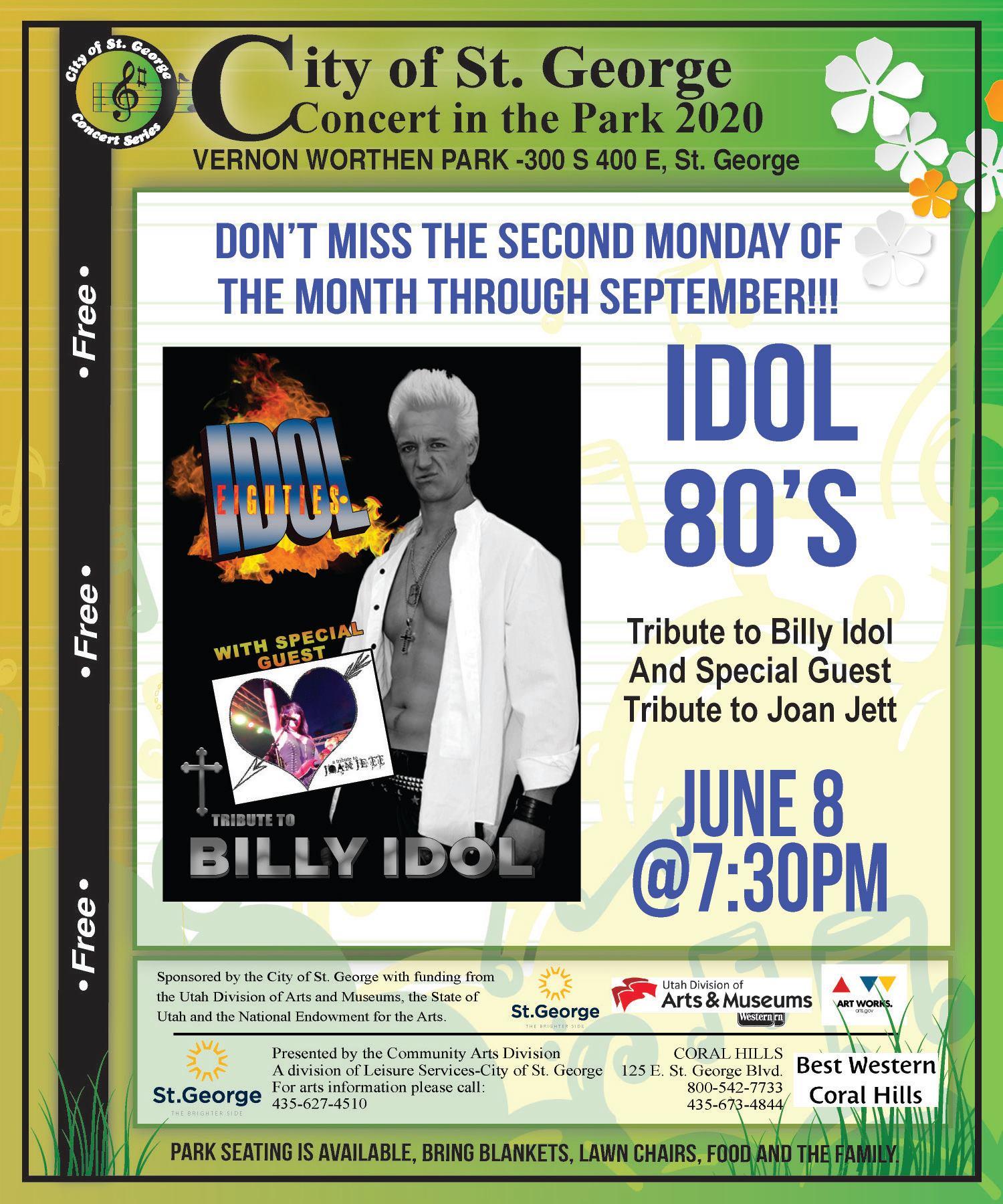 billy idol tribute