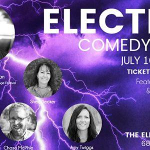 elektrická komedie červenec