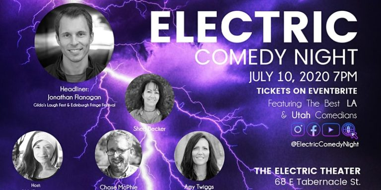electric comedy july