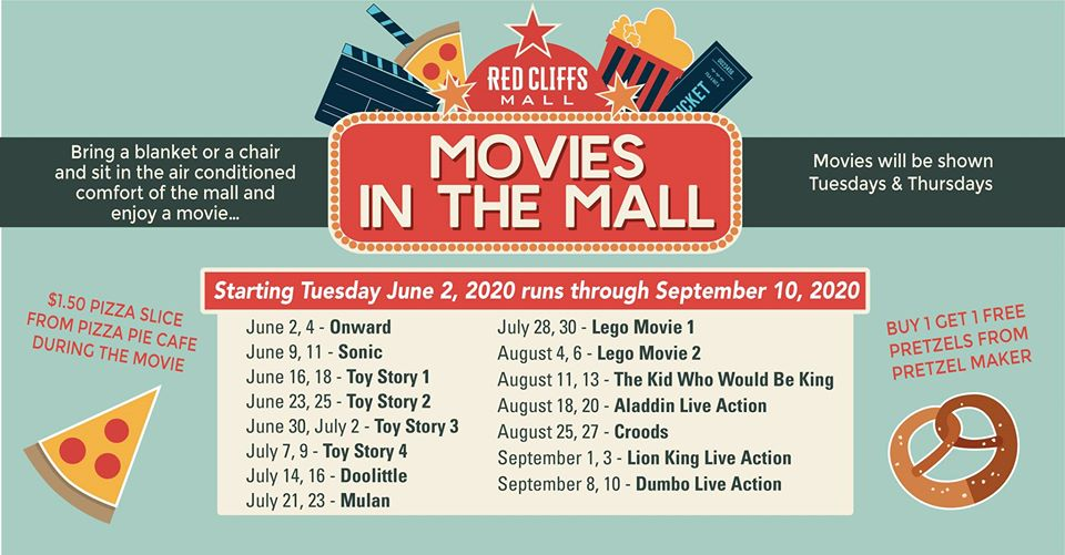 movies in the mall