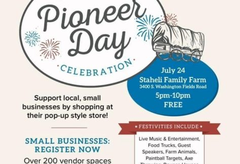 Pioneer day celebration