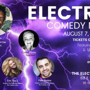 august electric comedy