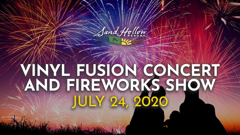 vinyl fusion concert and fireworks