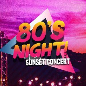 80s night concert
