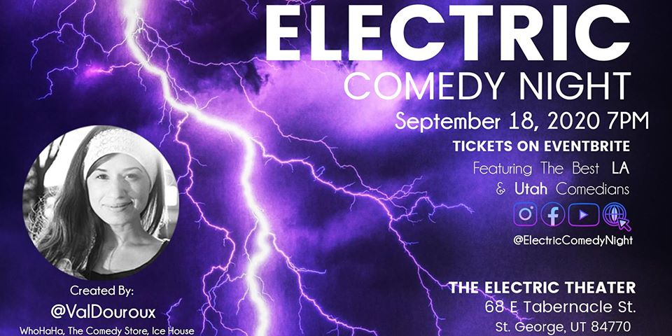 electric comedy september 18th