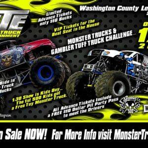 Monster truck nitro show