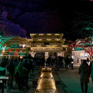 tuacahn christmas in the canyon