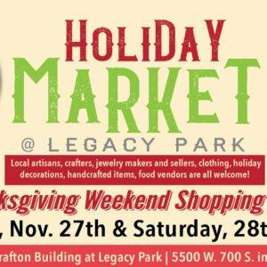 holiday market at legacy