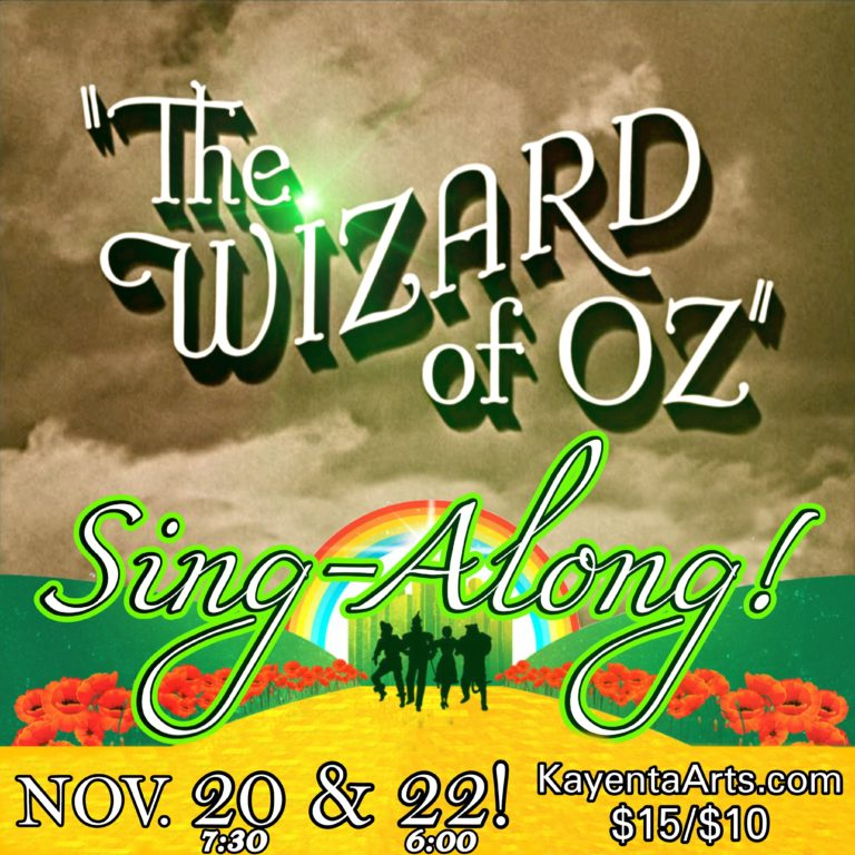 wizrd oz sing along square
