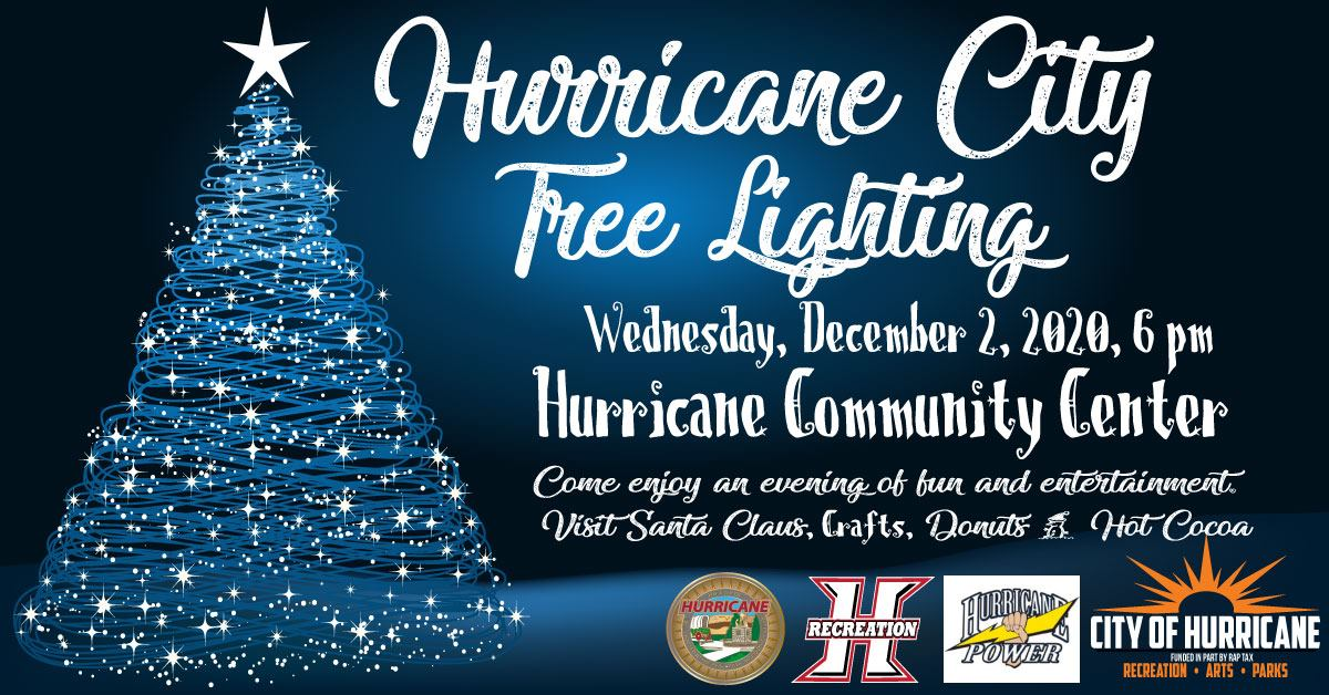 hurricane city tree lighting