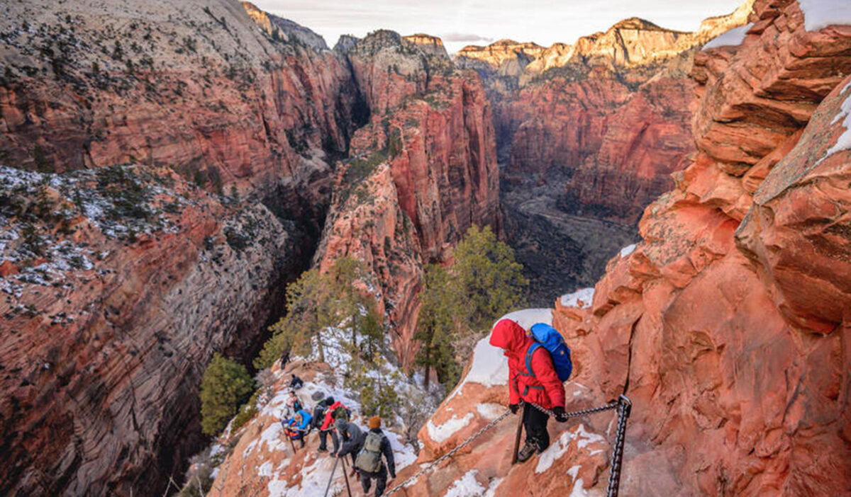 One Of Americas Greatest National Parks Is Virtually Empty This Winter Greater Zion
