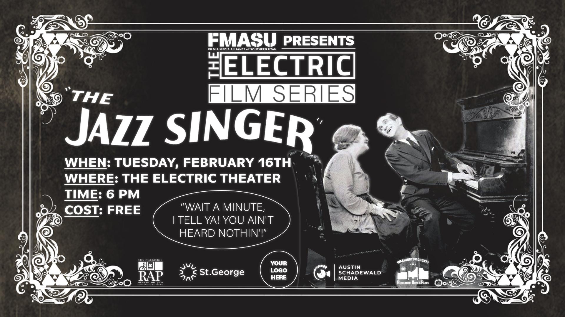 The Jazz Singer FB Cover Art