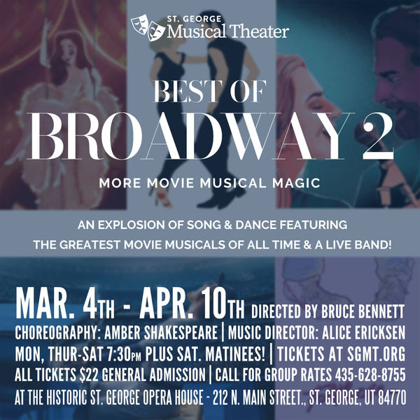 best of broadway 2 poster
