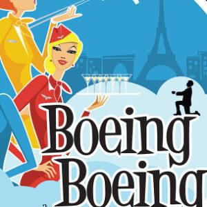 """Boeing Boeing"" plakatas"