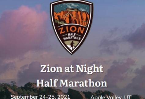 zion u noćnom maratonu
