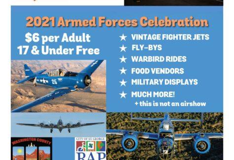 Armed Forces Celebration Event Flyer