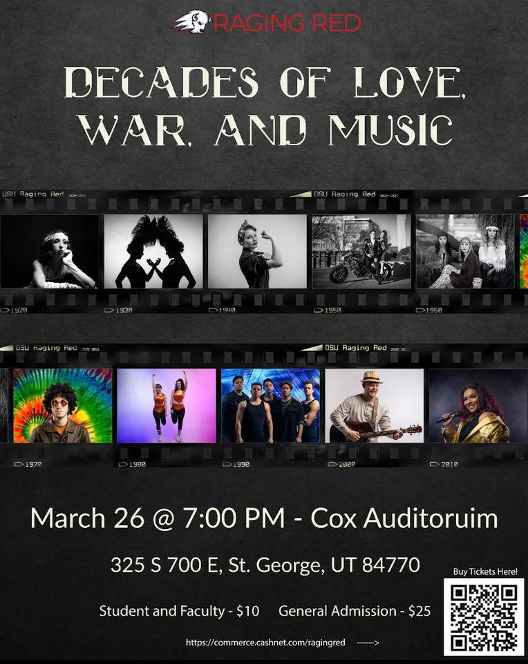 decades of love war and music