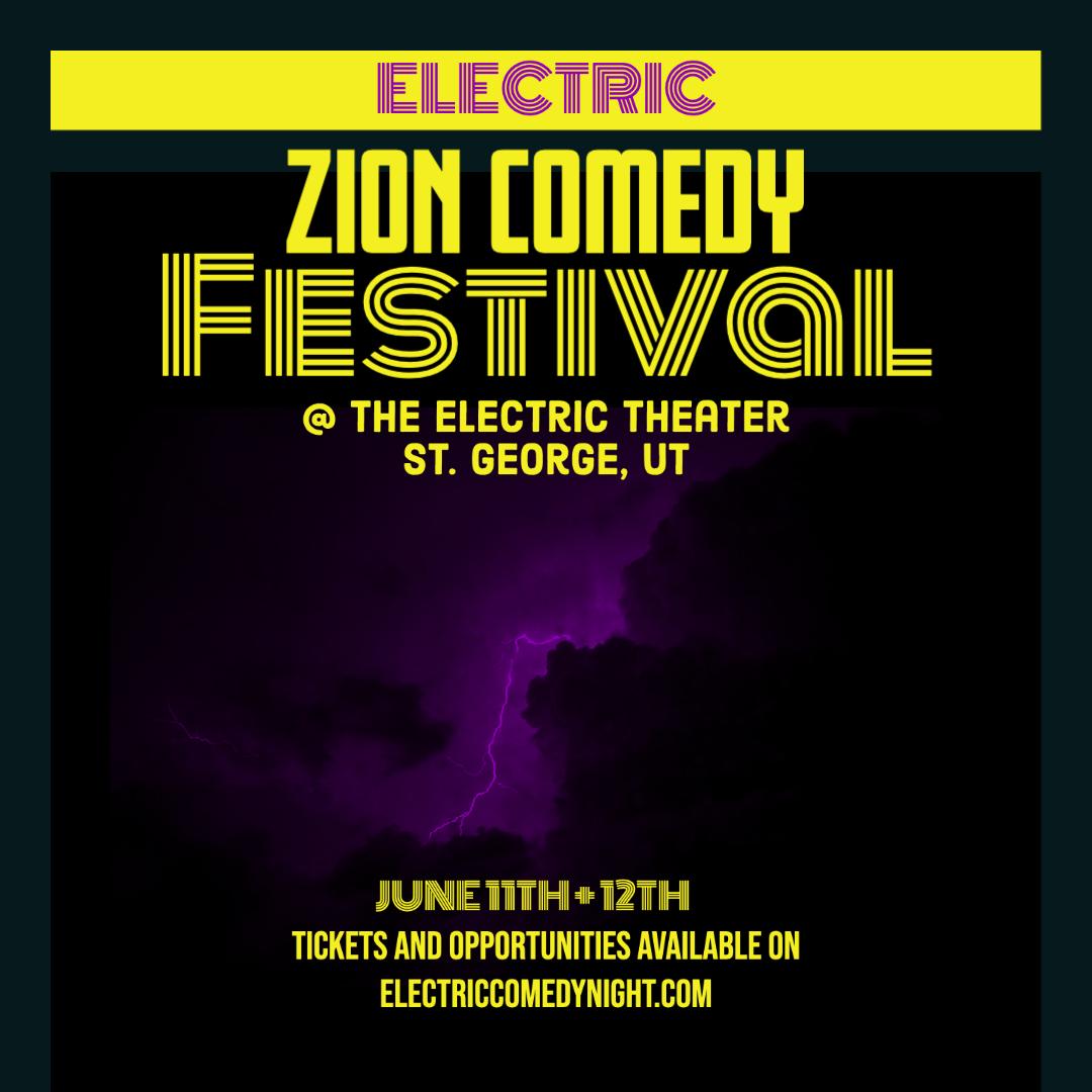 electric comedy festival june