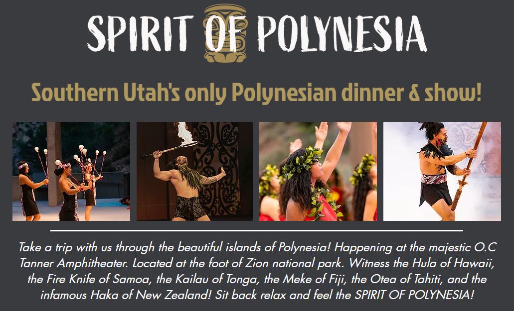 spirit of polynesia at OC Tanner