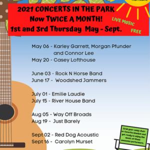 koncert uragana u parku
