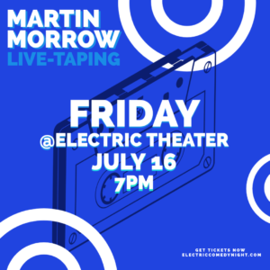 Martin Morrow Live Taping Blue