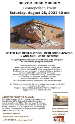 silver reef museum geologic hazards